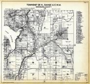 Township 29 N. Range 6 E.W.M., Hartford, Machias, Snohomish County 1927